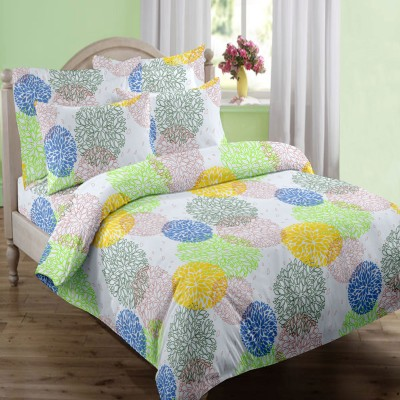 Swaas Cotton Printed Queen sized Double Bedsheet