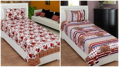 La elite Polycotton Floral Single Bedsheet