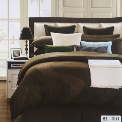 I-Dream Decor Cotton Plain King sized Double Bedsheet