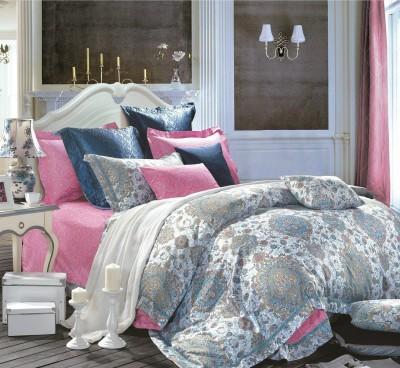 Kiaana Usa Cotton Printed Double Bedsheet