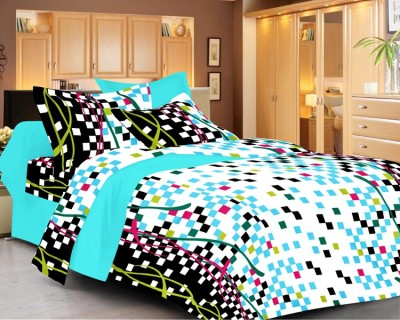 Beguile Cotton 3D Printed Double Bedsheet