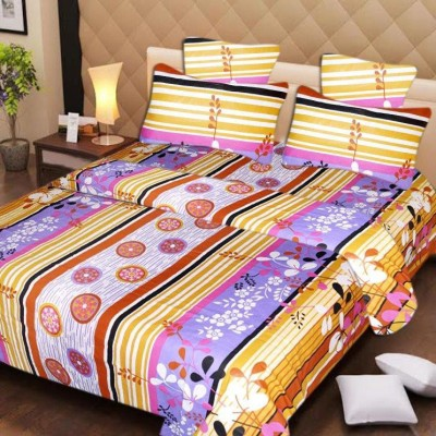 ROTOMAX Cotton Printed Double Bedsheet