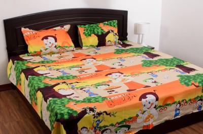 Renown Cotton Cartoon King sized Double Bedsheet