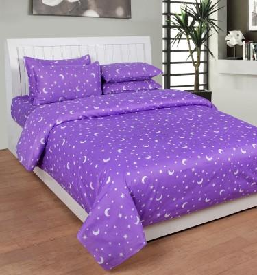 Creativezone Cotton Floral Double Bedsheet