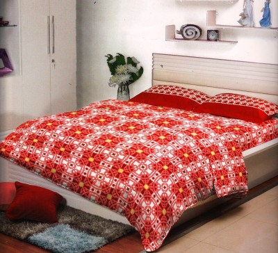 Stellar Home USA Cotton Printed Double Bedsheet