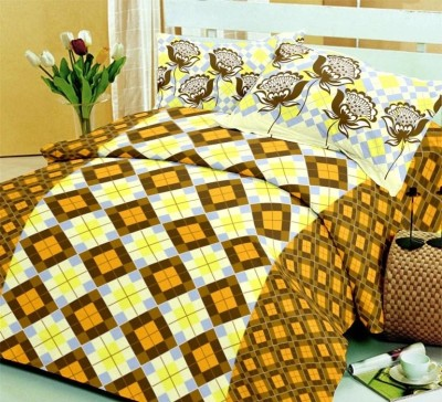 Bliss Cotton Printed Double Bedsheet