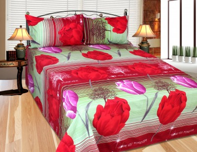 Kingsway Polycotton 3D Printed Double Bedsheet