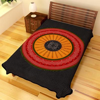Chokor Cotton Printed Single Bedsheet