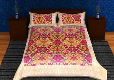 Lavish Cotton Abstract Queen sized Double Bedsheet