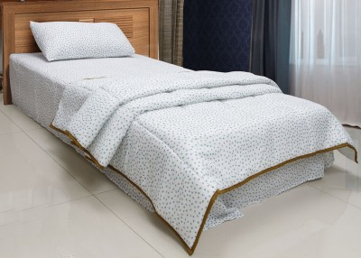 CocoBee Cotton Floral Single Bedsheet