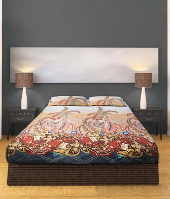 BLESSED INTERNATIONAL Cotton Printed Double Bedsheet