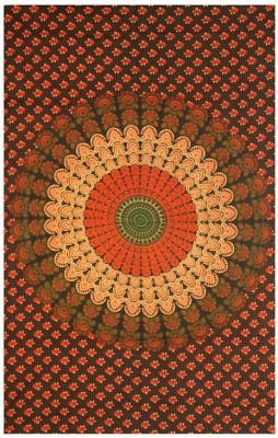 Mandala Tapesrty Cotton Printed Single Bedsheet