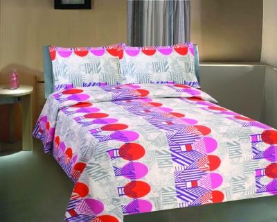 Mi Vida Cotton Printed Double Bedsheet