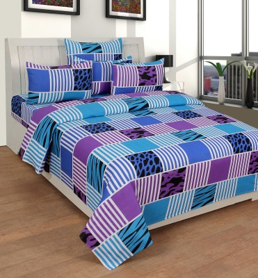 Rayon Casa Cotton Printed Double Bedsheet