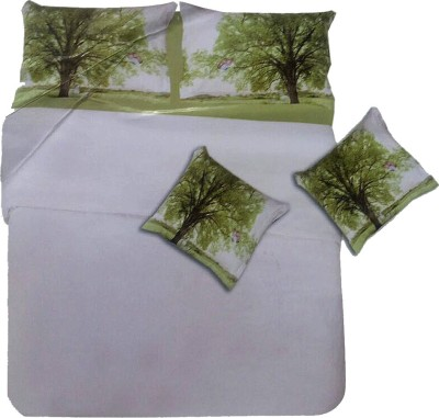 By Briana Cotton Printed Double Bedsheet