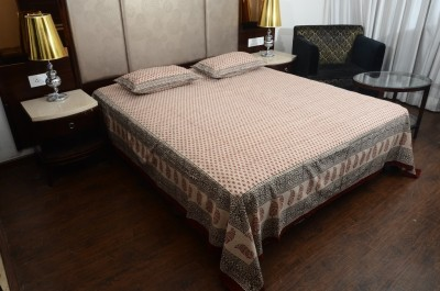 Touch Feel Cotton Floral King sized Double Bedsheet