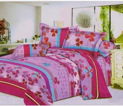 Fusion Polycotton Floral Double Bedsheet
