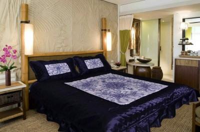 N DeCor Satin Floral Double Bedsheet