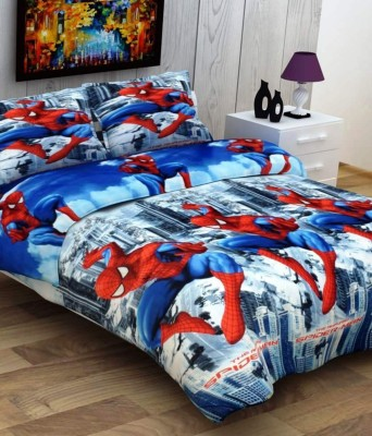Indiano Polycotton Cartoon Double Bedsheet