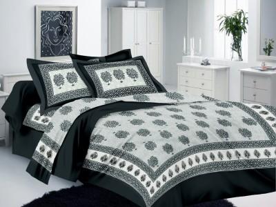 Mee Pra Cotton Printed Double Bedsheet