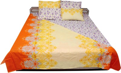Sheetal Cotton Floral Double Bedsheet