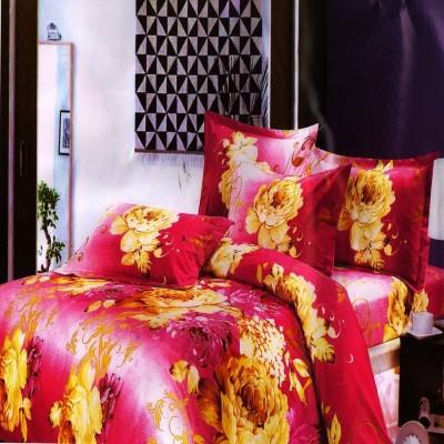 Unnati Cotton Floral Double Bedsheet