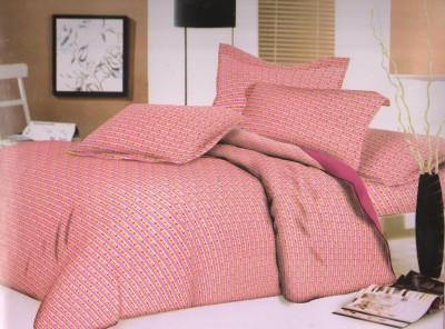 Ruhi Home Furnishing Cotton Striped Double Bedsheet