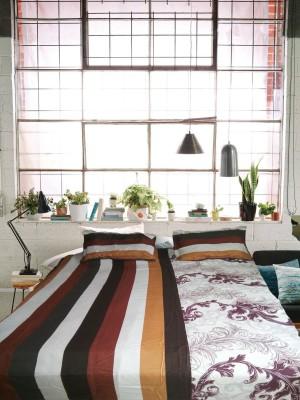 Zeupic Polyester Self Design Double Bedsheet