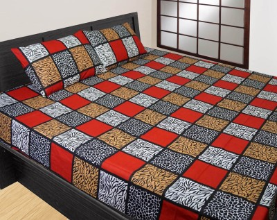 SGH Cotton Printed Double Bedsheet