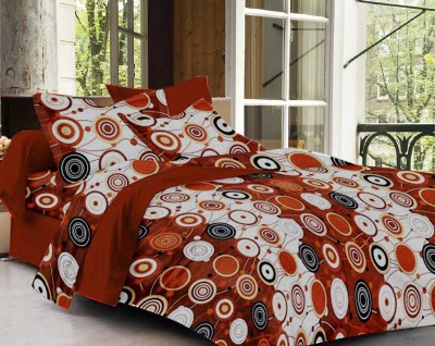 Story @ Home Cotton Geometric Double Bedsheet