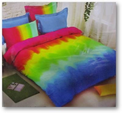 Sudesh Handloom Cotton Printed King sized Double Bedsheet