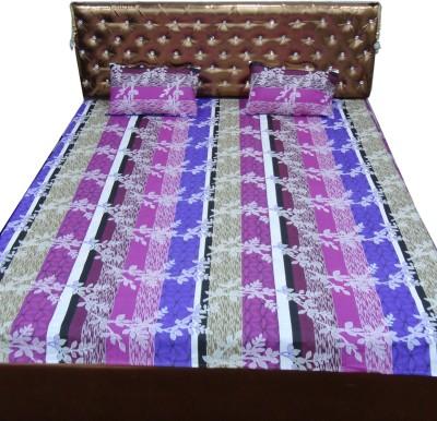 BedSheetZone Cotton Printed Double Bedsheet