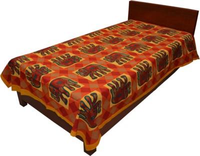 Artisan Creation Cotton Animal Single Bedsheet