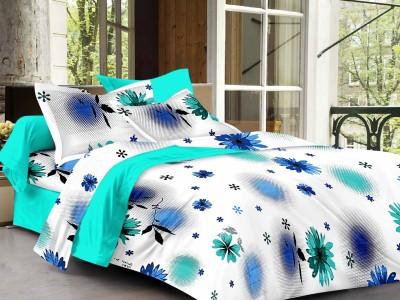 S4S Cotton Floral Double Bedsheet