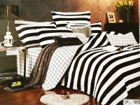 Mk Retail Cotton Printed Queen sized Double Bedsheet(1 Bed Sheet, 2 pillow Covers, Multicolor)