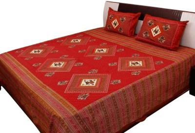 Ambika Ecommerce Cotton Printed Double Bedsheet