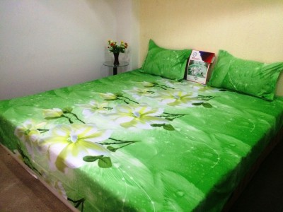 Drape Home Polyester Floral Double Bedsheet