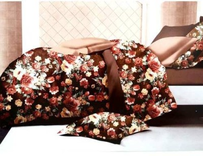 Tulaasi Cotton Floral Double Bedsheet