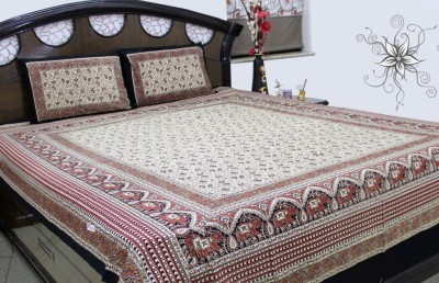 SheetKart Cotton Animal Double Bedsheet