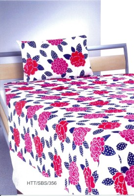Splash Cotton Printed Single Bedsheet