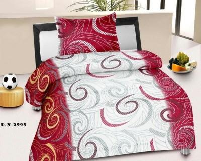 NIVRATI Cotton Printed Single Bedsheet