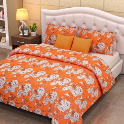 Looms of India Cotton Abstract Double Bedsheet