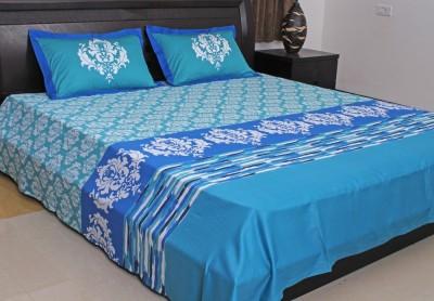 Elan Cotton Printed King sized Double Bedsheet