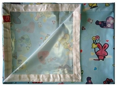 Love Baby Abstract Double Bedsheet