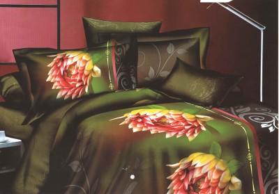 SKILIN Polycotton Floral Double Bedsheet
