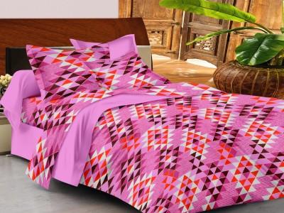 Casa Basics Cotton Checkered Queen sized Double Bedsheet
