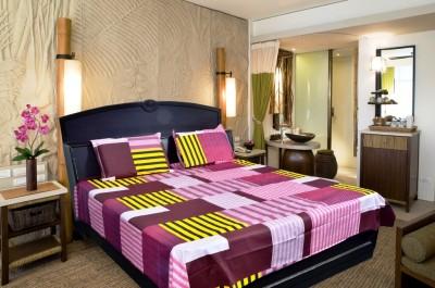 Govindam enterprises Cotton Striped Double Bedsheet