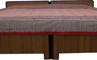 Navrang Colours of India Cotton Striped Double Bedsheet