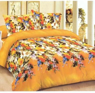 Koncepts Polycotton Floral Double Bedsheet