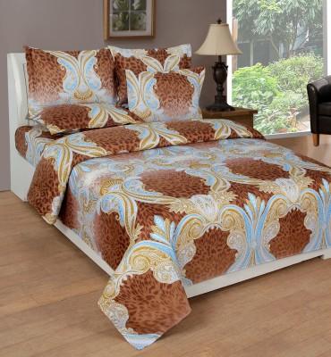 NIRWANA Polycotton Abstract Double Bedsheet